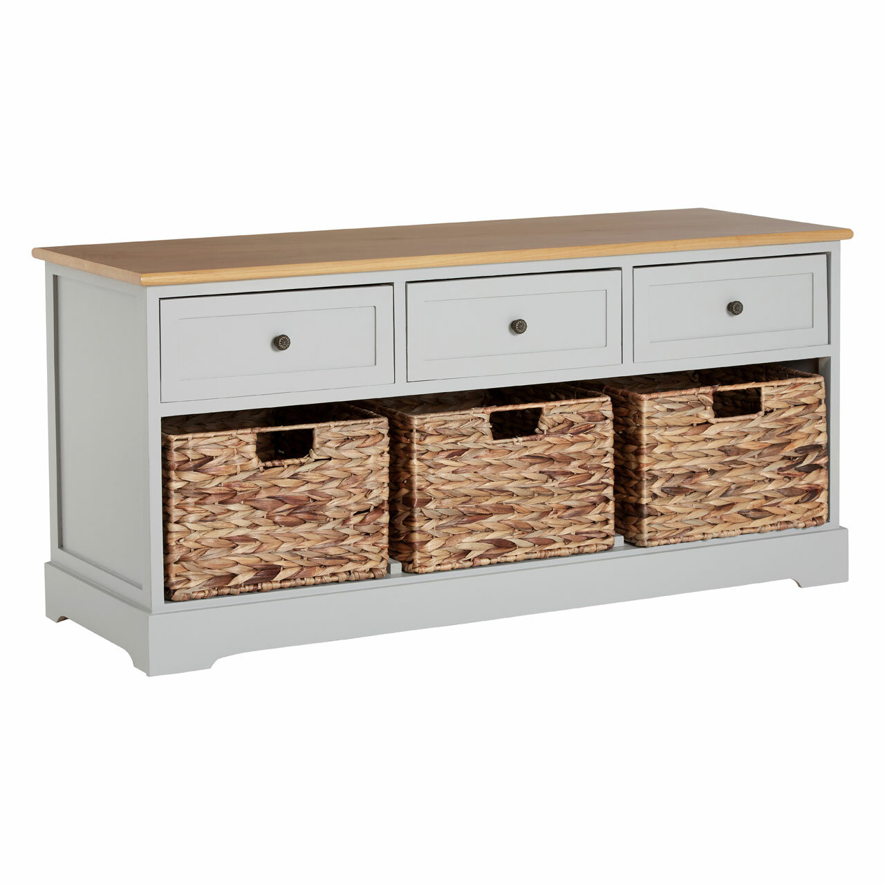 Stupendous Storage Bench With Baskets And Drawers Avalonit Net Uwap Interior Chair Design Uwaporg