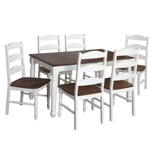 Fleurance 7 Piece Dining Set by August Grove