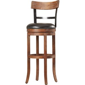 Carondelet 34  Swivel Tall Bar Stool  sc 1 st  Wayfair & Extra Tall Bar Stools 34 Inch Seat Height | Wayfair islam-shia.org