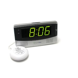 Boom Large Display Alarm Table Clock