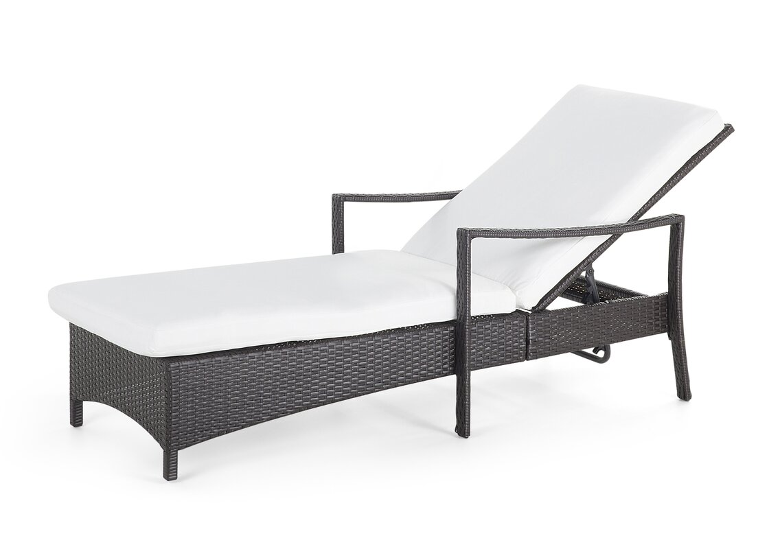 garten living gartenliege sun lounger mit auflage bewertungen. Black Bedroom Furniture Sets. Home Design Ideas