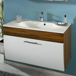 Belfry Bathroom 90 cm Wandmontierter Waschtisch mit Stauraum