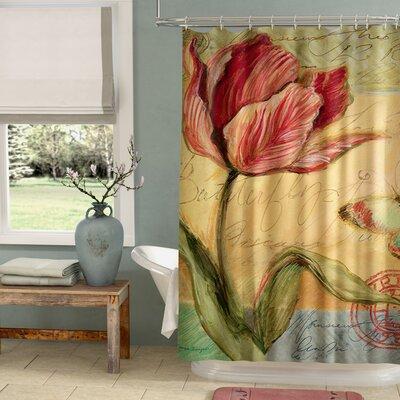 Loretta Tulip Shower Curtain
