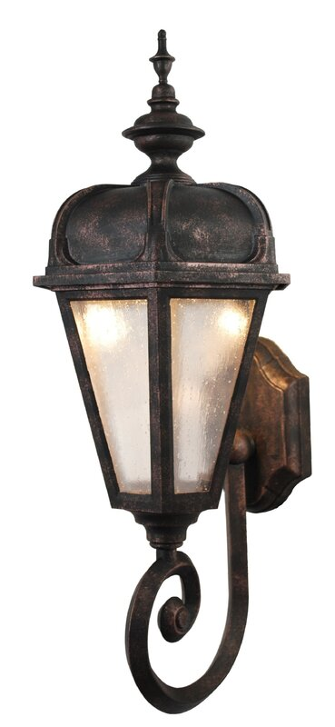 Kiss Series 1 Light Outdoor Sconce By Melissa Lighting Rated 5 Out Of