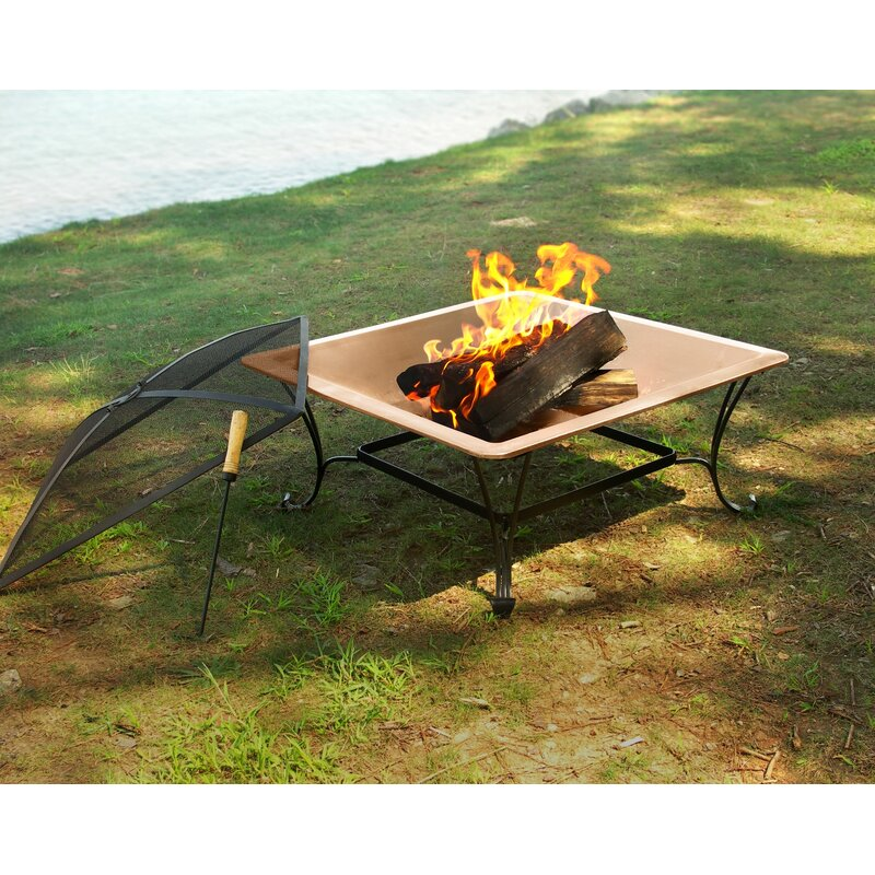 Copper Chiminea Fire Pit: Corral Copper Wood Burning Fire Pit & Reviews