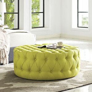Yellow Ottomans Poufs Youll Love