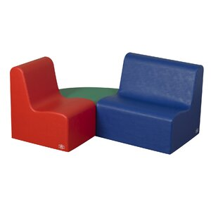 School Age Learning 3 Piece Soft Seating