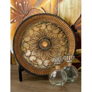 Polystone Plate with Metal Stand  sc 1 st  Wayfair & Decorative Plates You\u0027ll Love | Wayfair