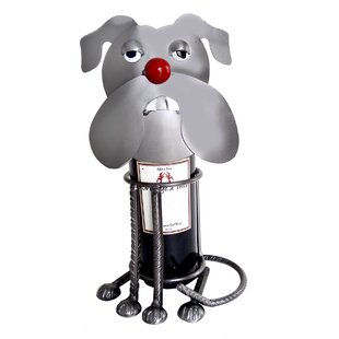 Bulldog 1 Bottle Tabletop Wine Rack