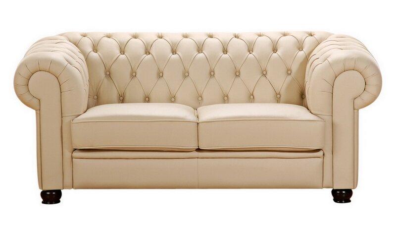 max winzer 2 sitzer sofa chandler aus leder. Black Bedroom Furniture Sets. Home Design Ideas