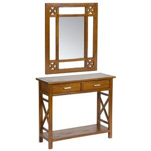 Konsolentisch mit Spiegel von Hazelwood Home