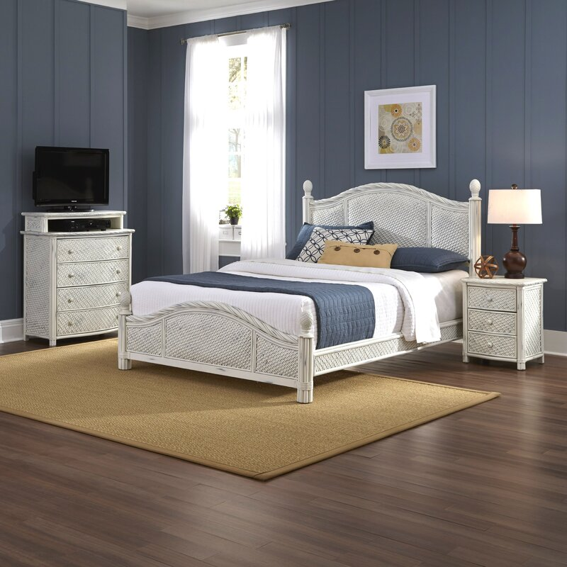 Beautiful Dessie Platform 3 Piece Bedroom Set