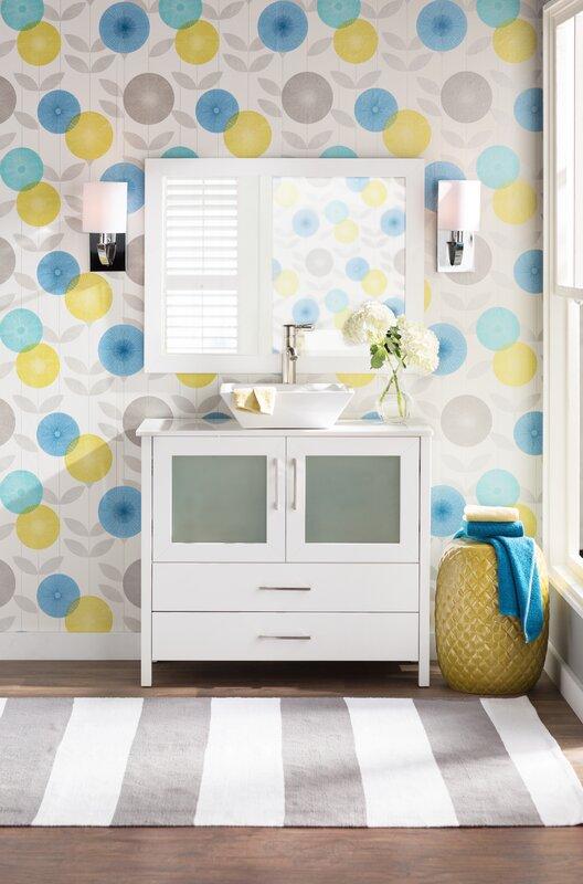 Brewster home fashions bath bath bath volume iv monroe for Wayfair bathroom wallpaper