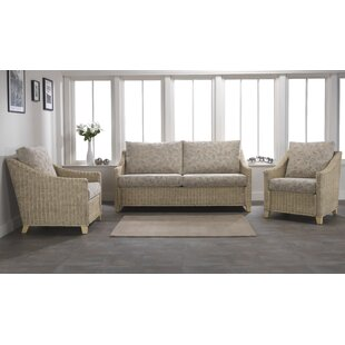 Cavaillon 3 Piece Conservatory Sofa Set