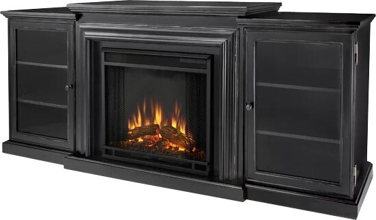 Real Flame Frederick 72 Quot Tv Stand With Fireplace Amp Reviews