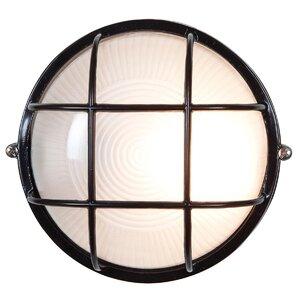 Blithedale 1-Light Outdoor Bulkhead Light