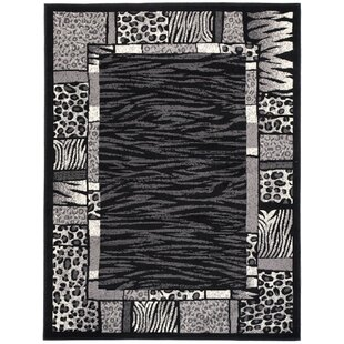 Wren Black Rug by Longweave