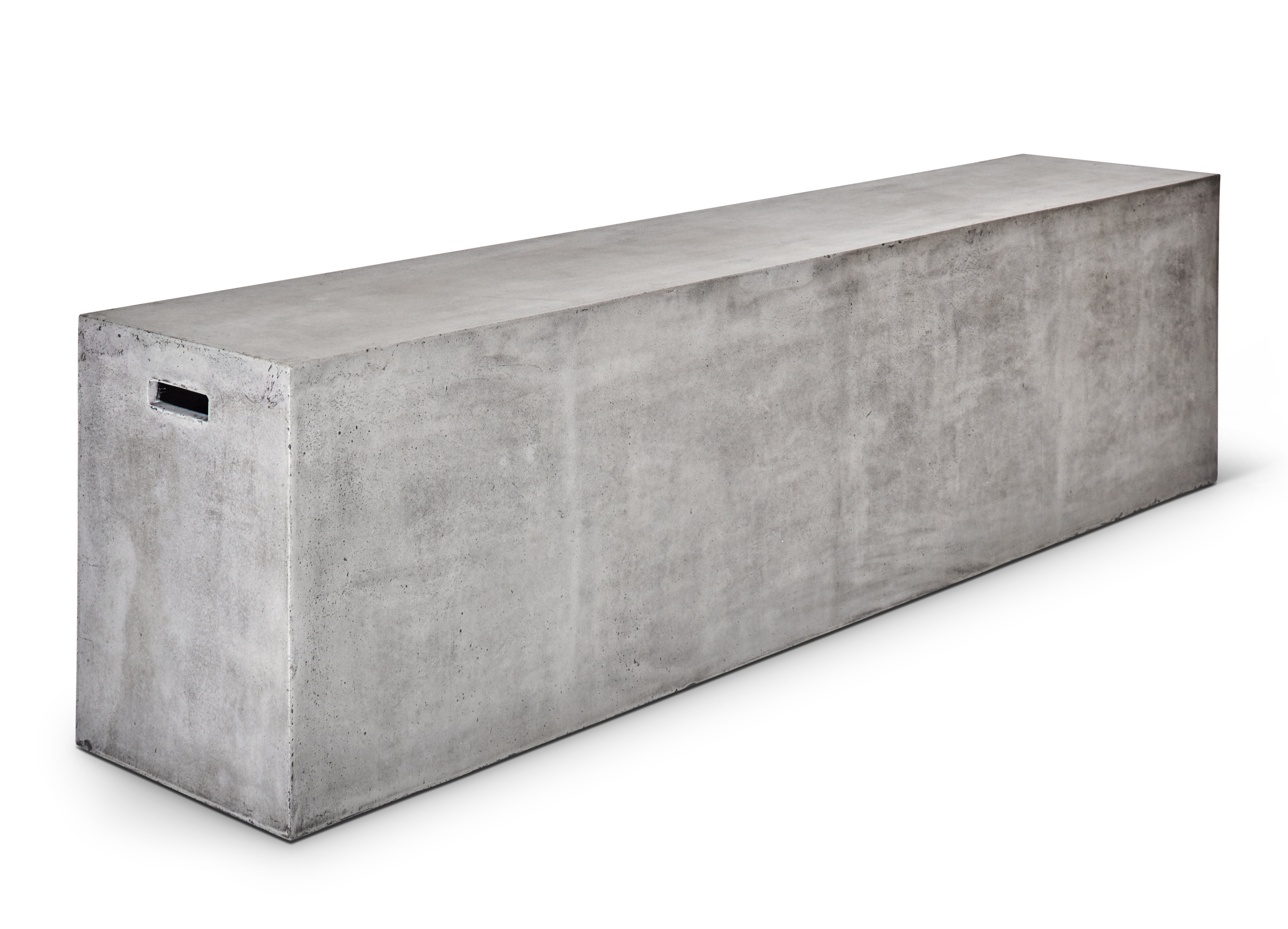 17 Stories Amhold Fiber Reinforced Natural Concrete Bench & Reviews