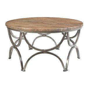 Victoire Round Coffee Table by Ivy Bronx