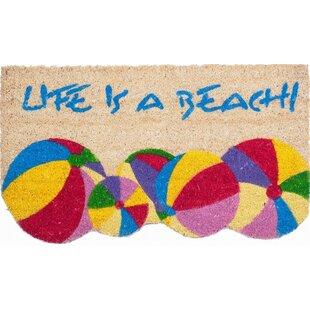 Bon Life Is A Beach Doormat