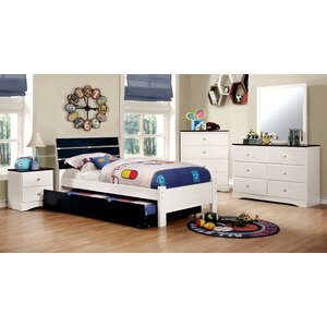 Cristina Sleigh Configurable Bedroom Set