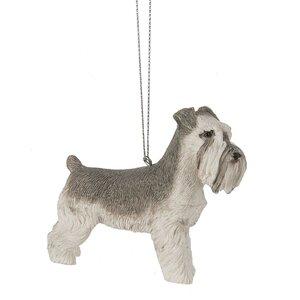 Schnauzer Hanging Figurine