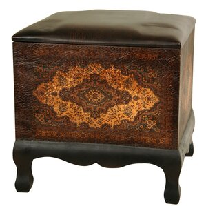 Clair Baroque Cube Ottoman by World Menagerie