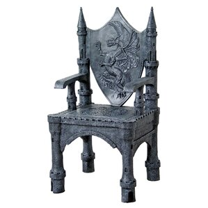 The Dragon of Upminster Castle Throne Armcha..