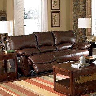 Leather Reclining Sofas You\'ll Love | Wayfair