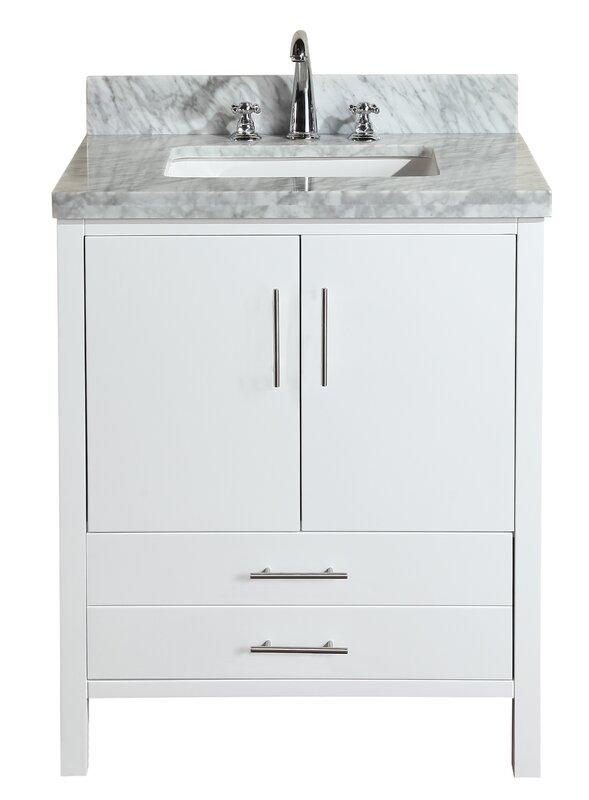30 vanity with sink. California 30  Single Bathroom Vanity Set Inch Vanities You ll Love Wayfair
