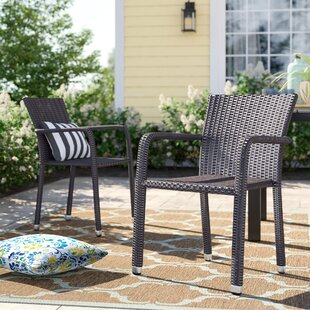 Wicker Patio Dining Chairs Youll Love Wayfair
