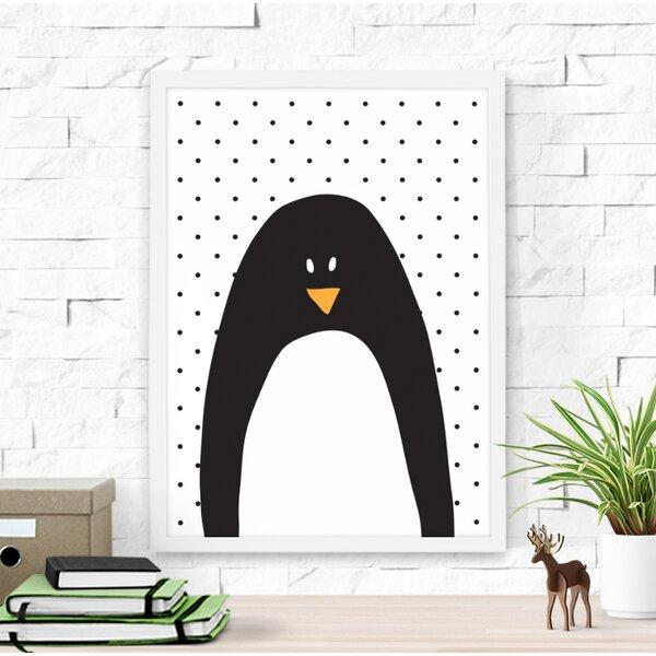 Dilemma Posters Cute Penguin Framed Art | Wayfair