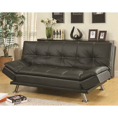 declan black sleeper sofa