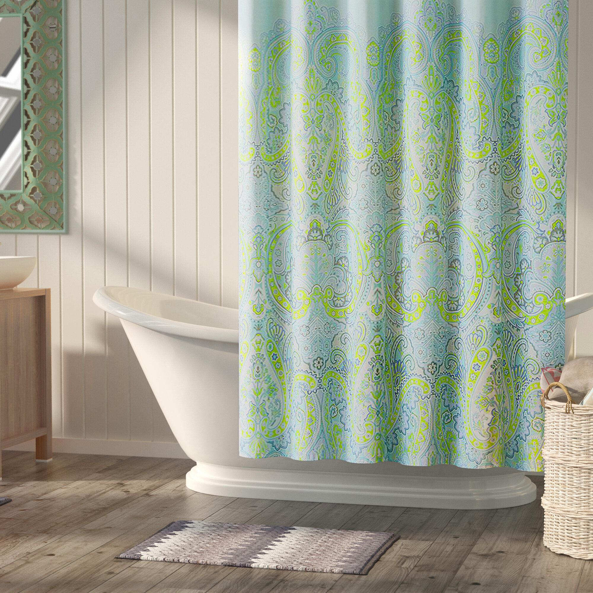 Bungalow Rose Labhira Microfiber Shower Curtain Reviews