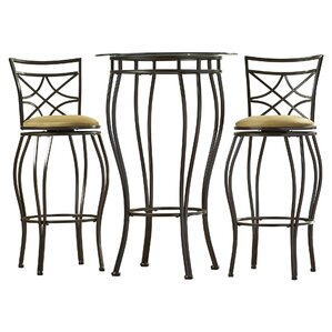 Northridge 3 Piece Pub Table Set by Alcott Hill