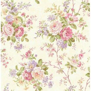 Pink Floral Wallpaper Youll Love Wayfair