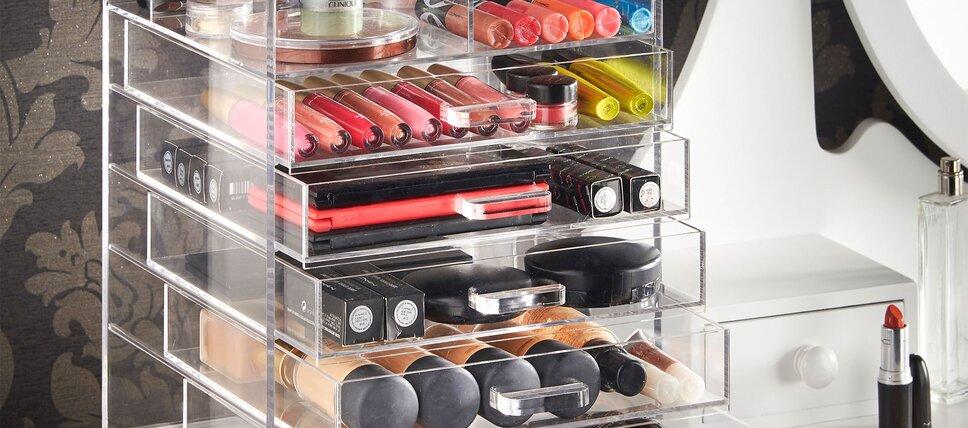 5 star makeup organizers - Bathroom Decor