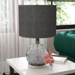 Cleavenger 22 Table Lamp With Drum Shade