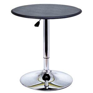 Carmody Modern Adjustable Height Pub Table by Mercury Row