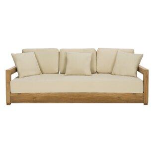 Lakeland 4 Piece Teak Sofa Set With Cushions