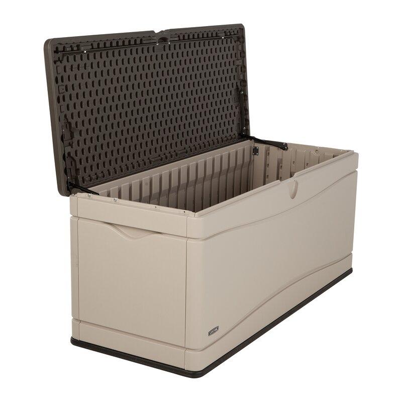 Lifetime Plastic Storage Bench & Reviews | Wayfair