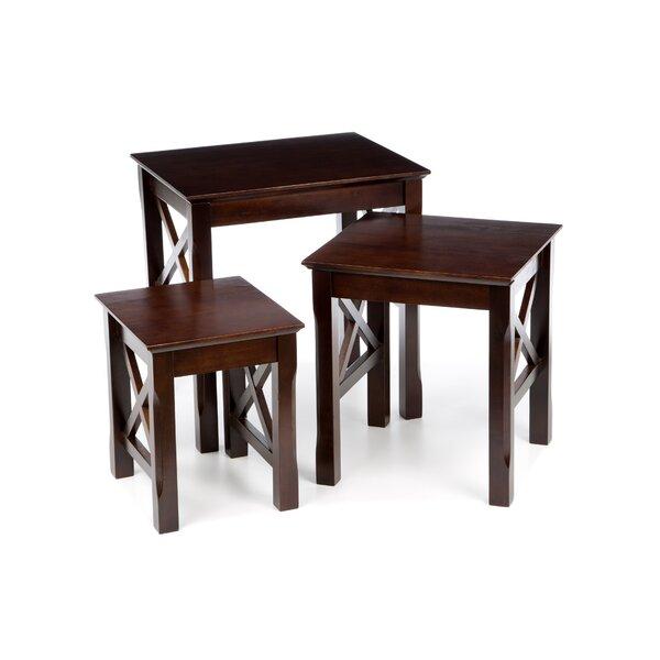 Charlton home toledo piece nesting tables reviews