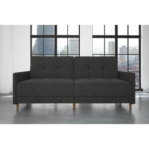 Ziva Linen Convertible Sofa by Zipcode Design