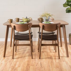 Bond 5 Piece Dining Set by Corrigan Studio