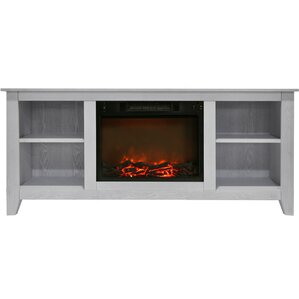 Brook Hollow Electric Fireplace TV Stand by Alcott Hill