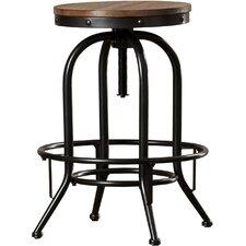 empire adjustable height swivel bar stool set of 2
