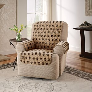 Box Cushion Recliner Slipc..