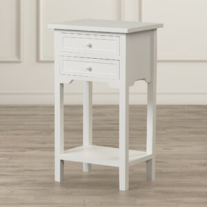 Berwick End Table With Storage by Char..