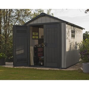 Garden Sheds 7 X 14 plastic sheds you'll love | wayfair