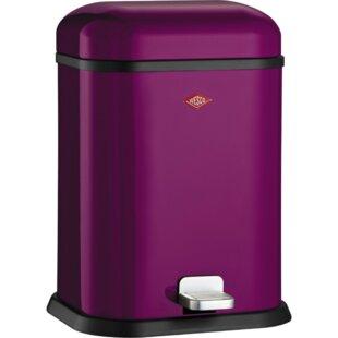 Well-liked Purple Trash Can | Wayfair ZT47